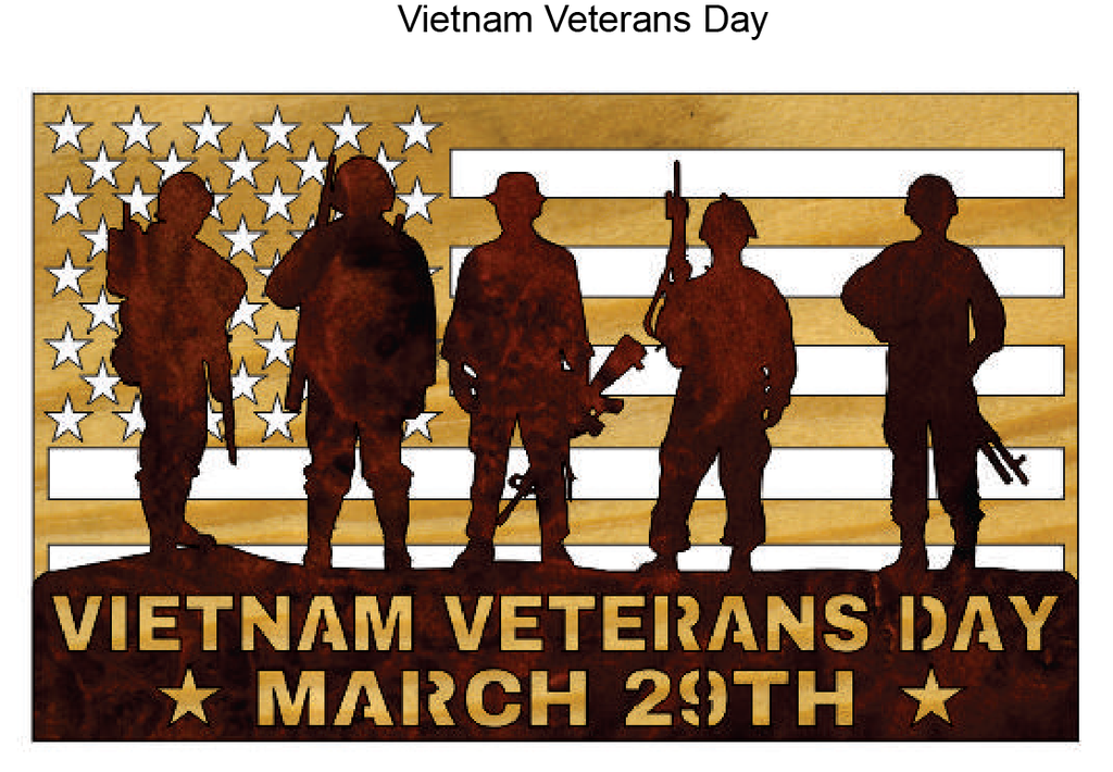 743, Vietnam Veterans Day, 6 in. x 10.25 in.