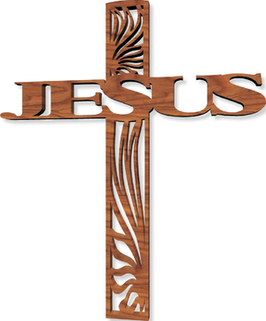 811, Jesus Cross (not enclosed), 9.5 in. x 7.25 in.