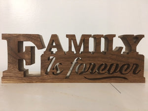 895, Family is Forever, 8 in. x 11 in.