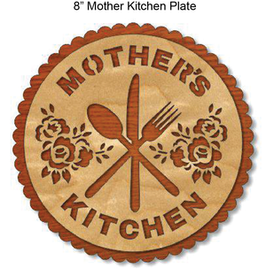 908, Mother's Kitchen, 7.9 in. x 5.4 in.