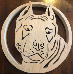 American Stafforshire Scroll Saw Art