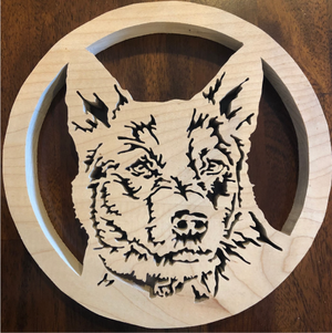 Aussie Scroll Saw Art