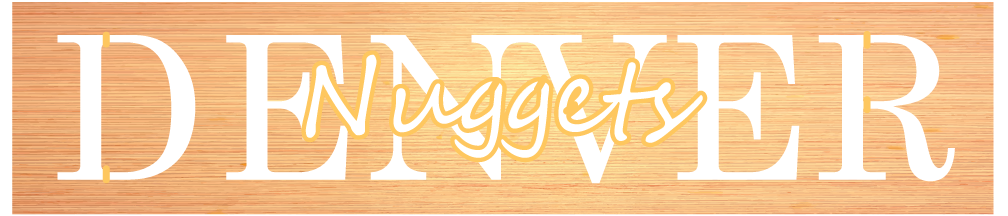 Denver Nuggets Plaque