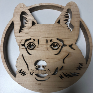 Welsh Corgis Scroll Saw Art
