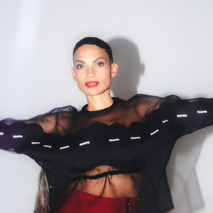 "IN THE OXOSI STUDIO <br><span style=""font-family: Malaika, sans-serif; font-weight: normal; letter-spacing: -.5px; text-transform: none;"">featuring <i>Goapele</i></span>"