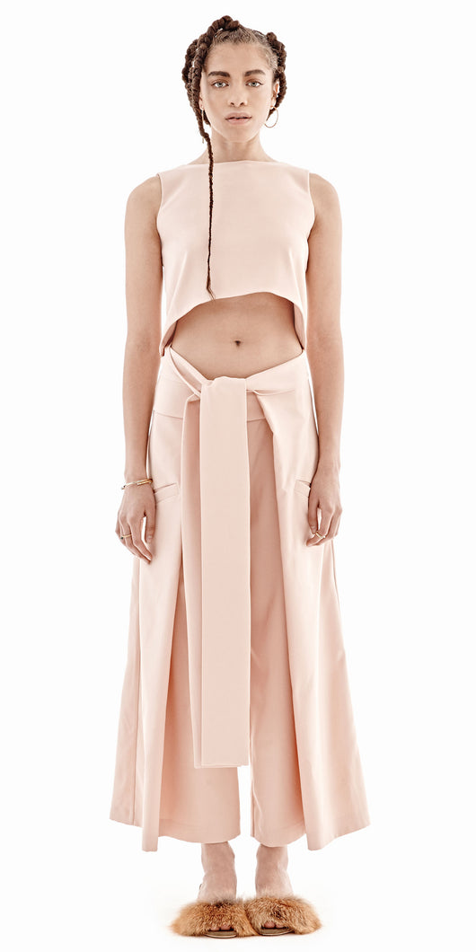 Bridget Awosika Blush Crop Top