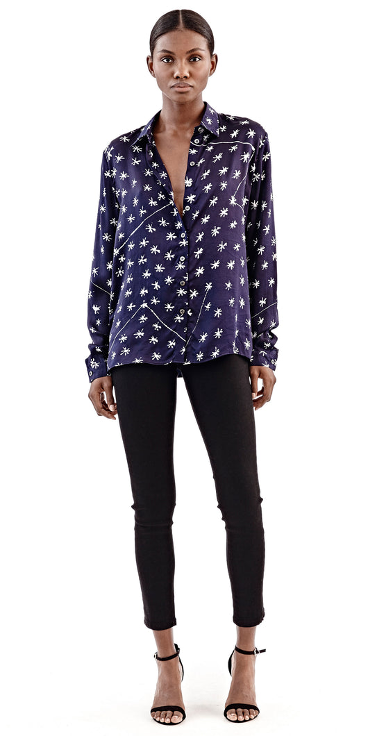 Maki Oh Constellation Adire Shirt
