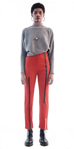 Maki Oh Multi Zip Fitted Trousers