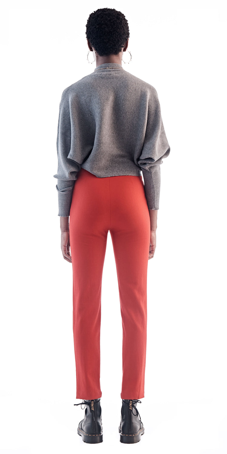 Multi Zip Fitted Trousers - Maki Oh - OXOSI