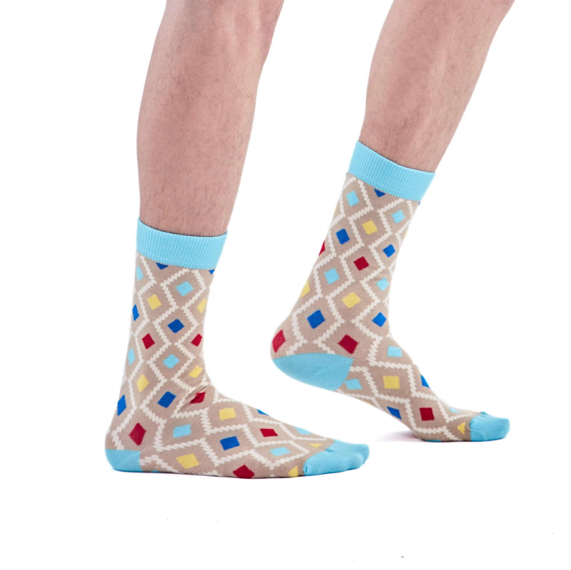 MaXhosa Beige Patterned Socks