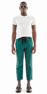 Solid Green Lagos Pant