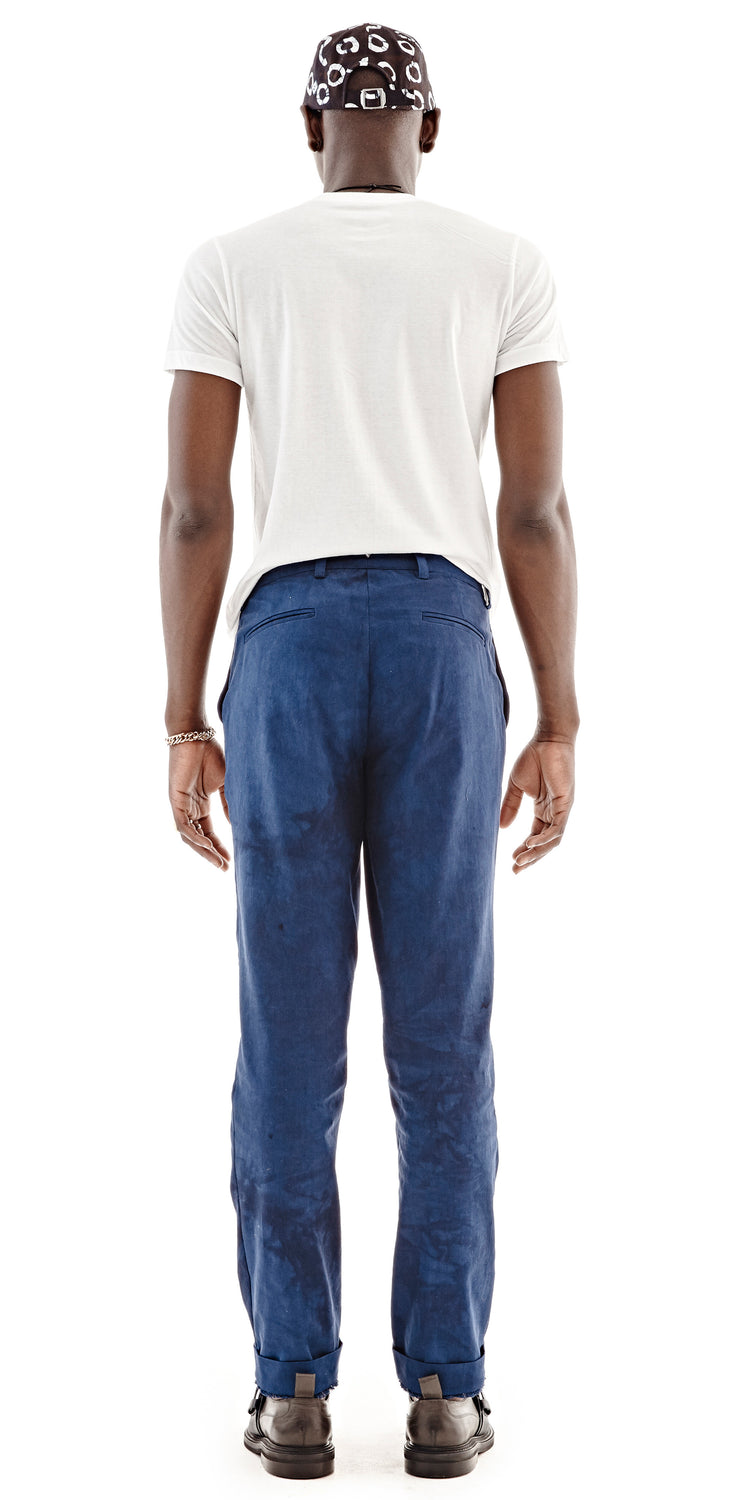 Solid Indigo Mainland Pant - Post Imperial - OXOSI