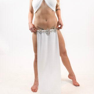 Leia Godess Style Slave Skirt - burningbabeclothingco