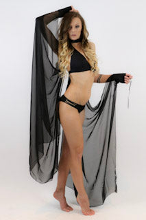 Full Outfit Rave Cape - burningbabeclothingco