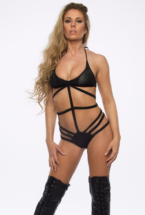 Cage Bodysuit - burningbabeclothingco