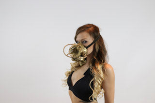 Steampunk Flower Gas Mask - burningbabeclothingco