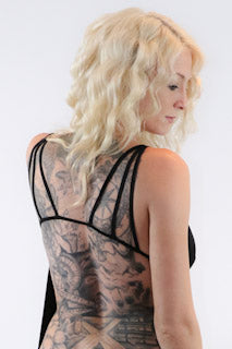 Backless Satin Camisole Top - burningbabeclothingco