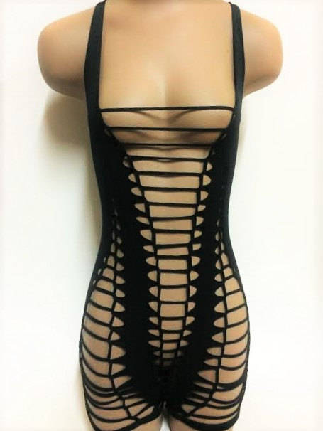 Braided Cage Bodysuit - burningbabeclothingco
