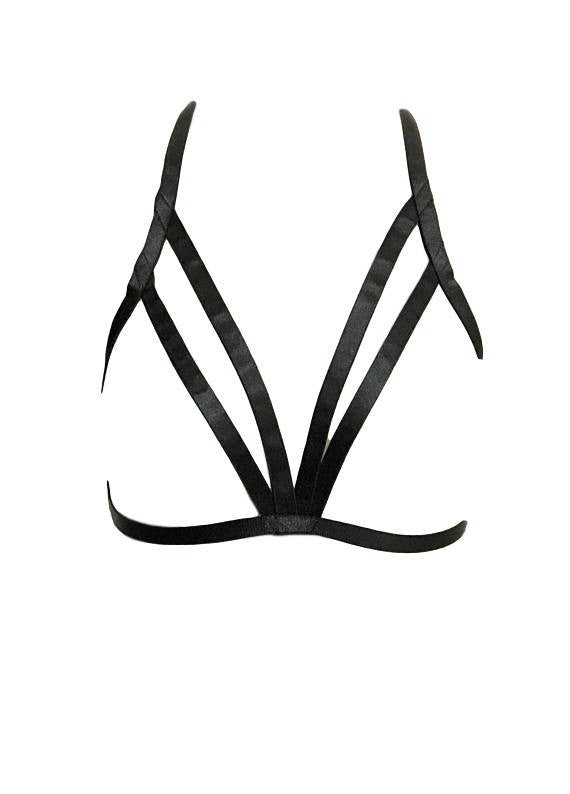 Simple Cage Bra - burningbabeclothingco