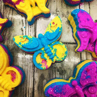 Sugar Butterfly Bath Bomb (Pack Of Six)