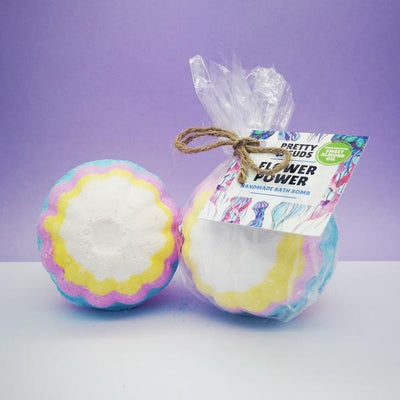 Flower Power Bath Bomb (Pack Of Six)
