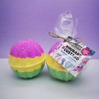 Rhubarb and Custard Bath Bomb (Pack of Six)