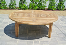 "7pc Monterey Teak Seating Group with 52"" Chat Table. Sunbrella Cushion."