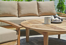 "6 pc Huntington Deep Seating Group with 52"" Chat Table. Sunbrella Cushion"
