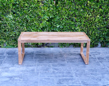 "Venice 24""x48"" Teak Outdoor Coffee Table"