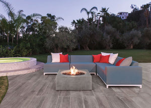 Altura Natural Stone Outdoor Fire Bowl