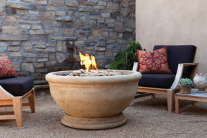 Sonora Natural Stone Outdoor Fire Bowl