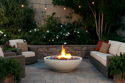 Vista Natural Stone Outdoor Fire Bowl