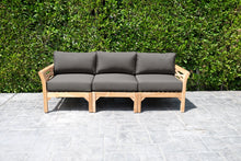 Monterey Outdoor Teak Sofa. Sunbrella Cushion