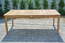 Teak Grade A Expansion Dining Table