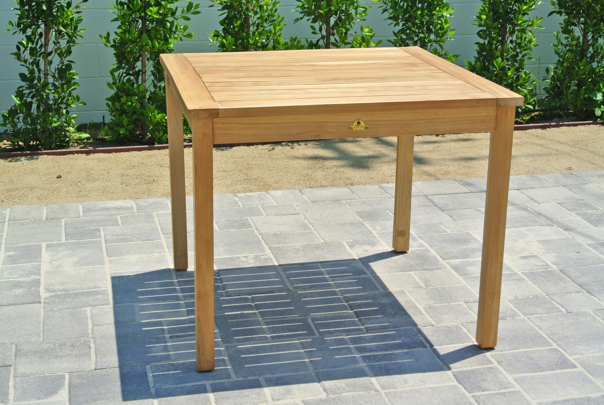 Picture of: Outdoor Dining Table Teak Furniture Outdoor Table Willow Creek Designs