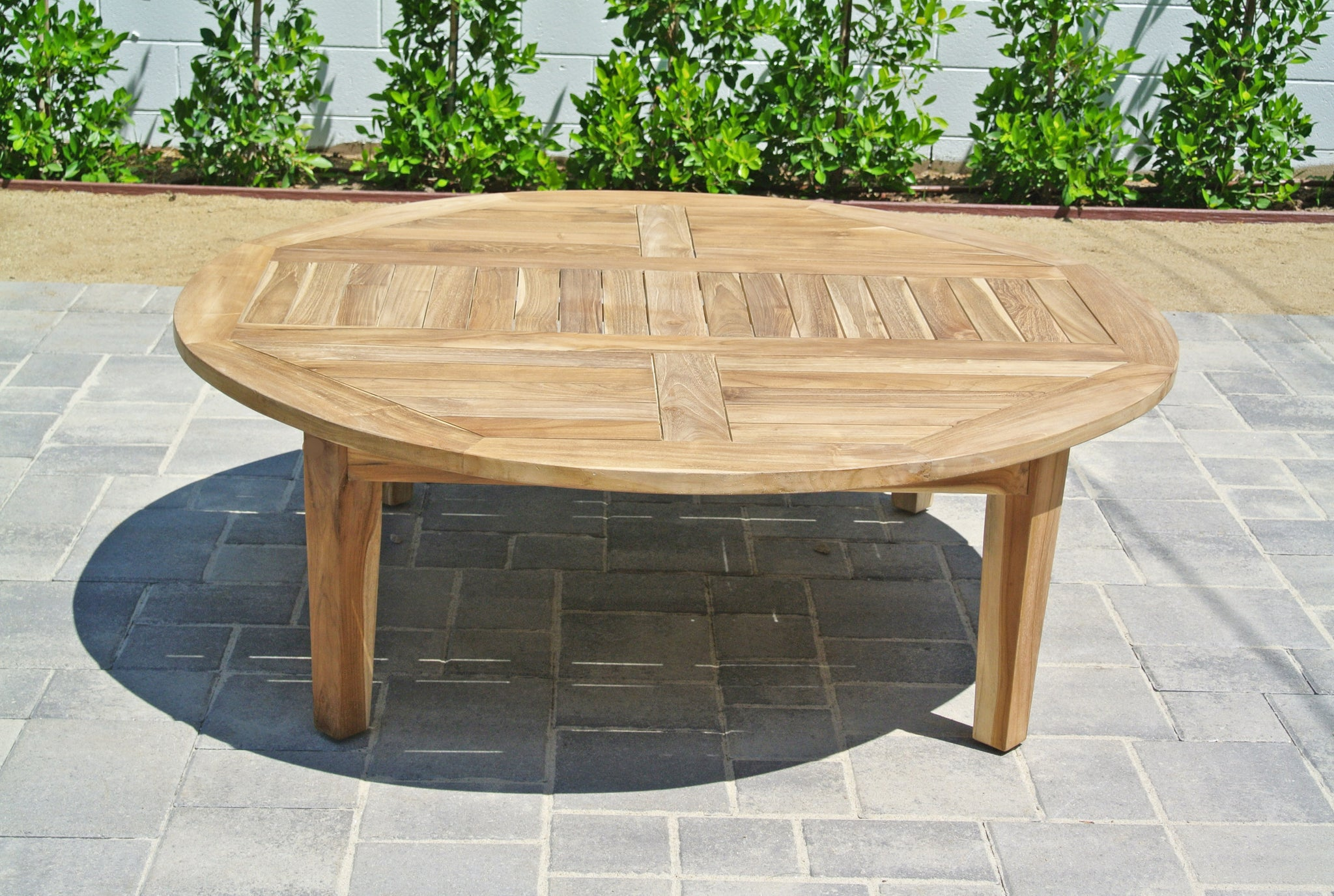 52 Outdoor Chat Table Teak Furniture Outdoor Table Willow