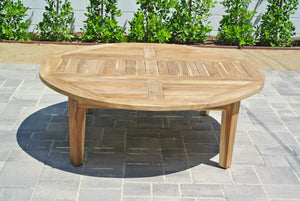 "Teak 52"" Chat Table"