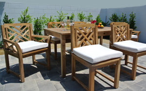 Teak Outdoor Dining Patio Furniture