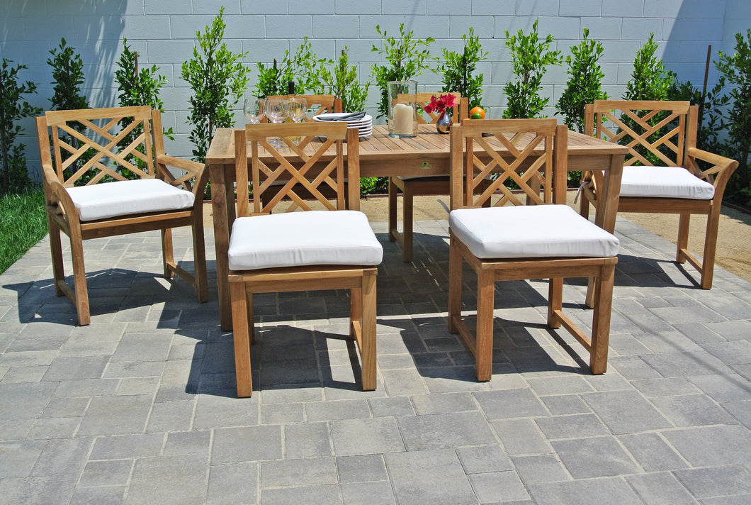 Teak Outdoor Patio Furniture Dining