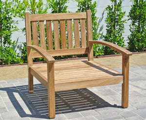 Teak Outdoor Club Chair