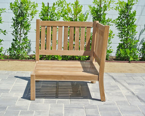 Outdoor Teak Patio Furniture Grade A Corner Chair