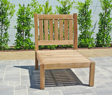 Outdoor Teak Patio Furniture Grade A Armless Chair