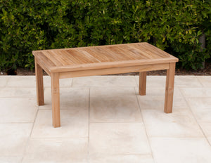 Teak Coffee Table Rectangular