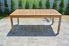 "Grade A Teak Outdoor Dining Table 72"" Rectangular"