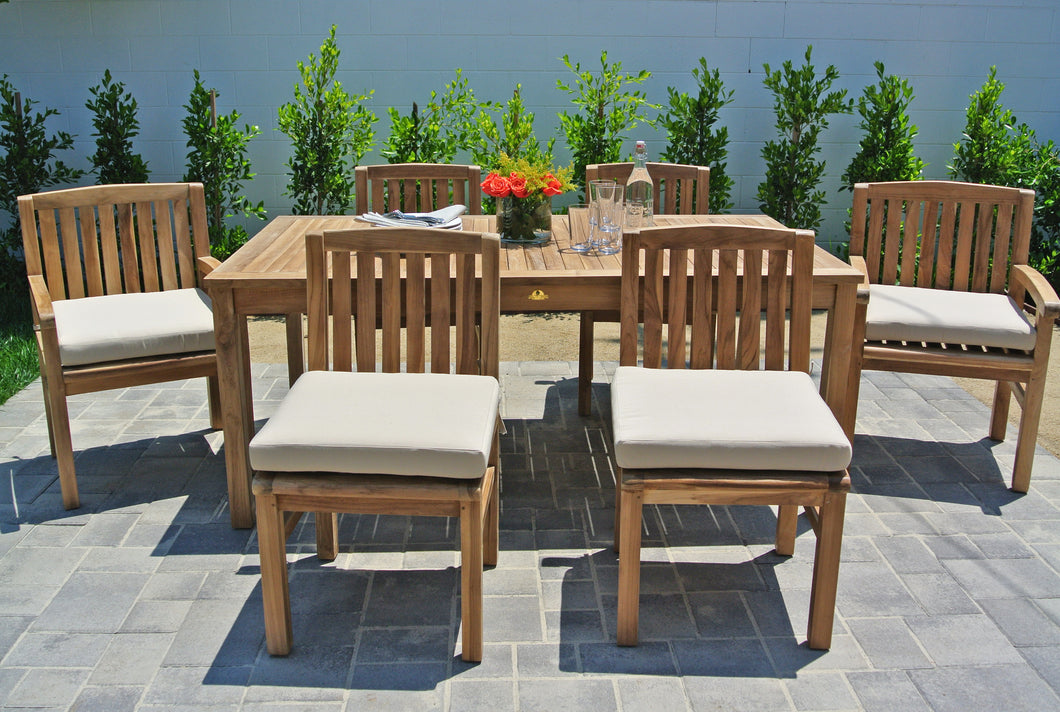 Outdoor Teak Patio Furniture Dining Set