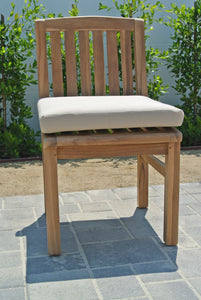 Grade A Teak Outdoor Armless Dining Chair