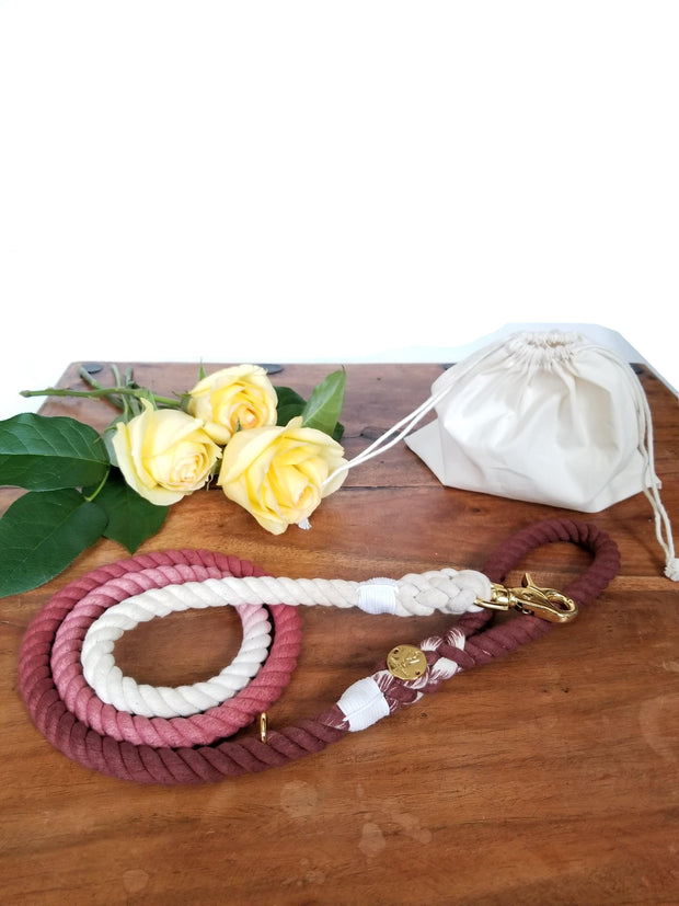Chianti | Cotton Rope Leash