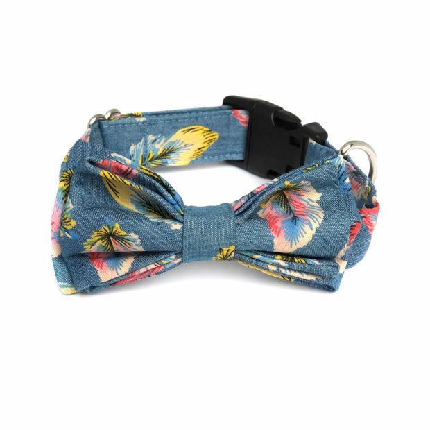 Bow Tie Dog Collar | Wag your tail feather