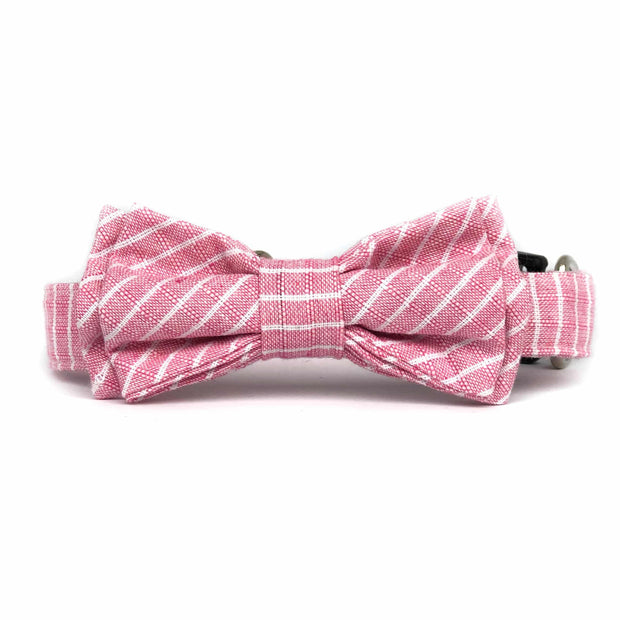 Bow Tie Collar| Baby Pink