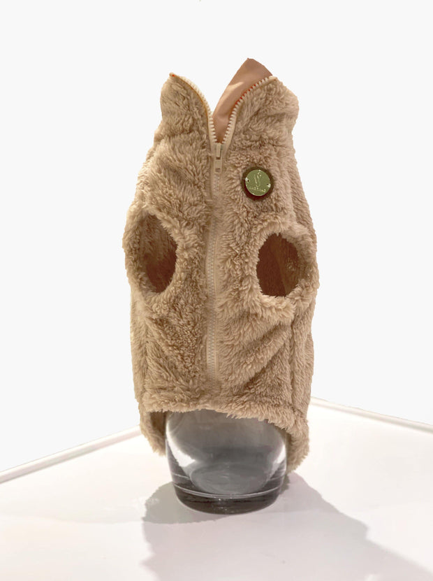 Fleece Dog Teddy Vest - Wag Swag Brand Inc